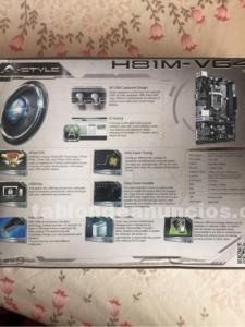 Placa base asrock h81m-vg4 socket 1150