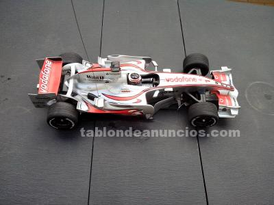 Coche radiocontrol f1 mercedes mclaren mp4-22 vodafone alonso 2007