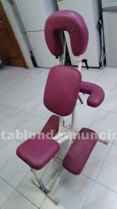 1 silla masaje de ecopostural