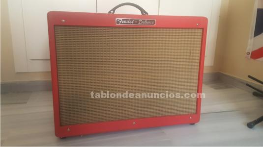 Fender hot rod texas red limited edition