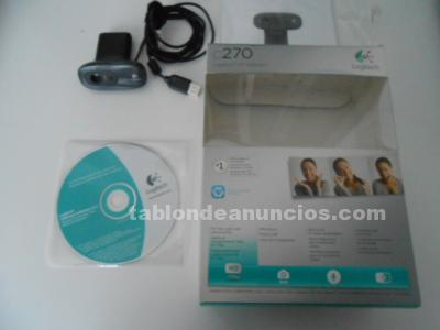 CAMARA WEBCAM LOGITECH C270 HD