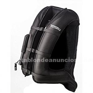 Chaleco protector con airbag helite airnest negro