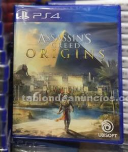 Assinssin´s creed origin ps4 nuevo sin desprecintar