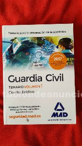 Temario guardia civil mad