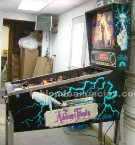 1992 pinball addams family de bally