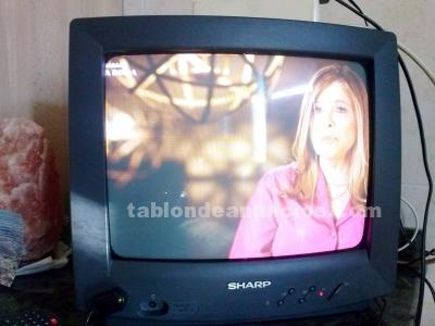Tv sharp 16 pulgadas poco uso funcionando