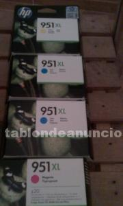 Cartuchos originales hp 951