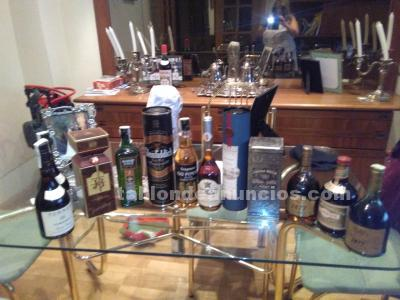 11 botellas originales lote todo por 130