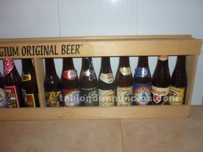 Colección de cervezas belgas
