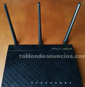 Router asus rt-ac66u 802.11ac dualband wireless ac1750