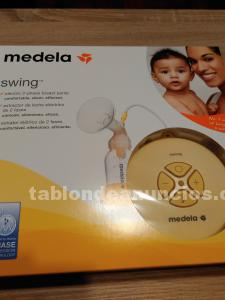 Sacaleches medela swing nuevo sin usar