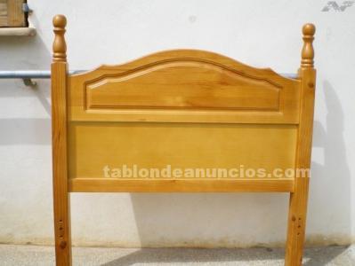 Cama pino color miel