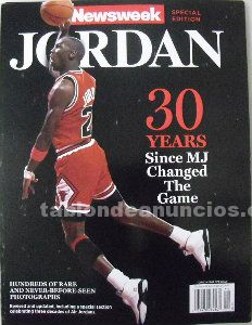 Michael jordan - revista especial 30 aniversario (1984-2014) - ''newsweek''
