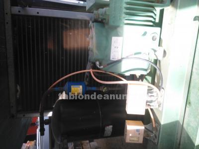 Liquido equipos de frío completos , panel y puerta para cámara