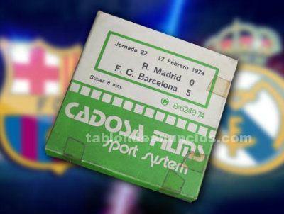 Película Super 8, R.Madrid-Barcelona, 1974