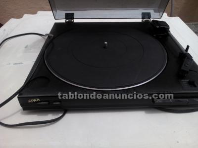 TOCADISCOS AIWA PX-E80E