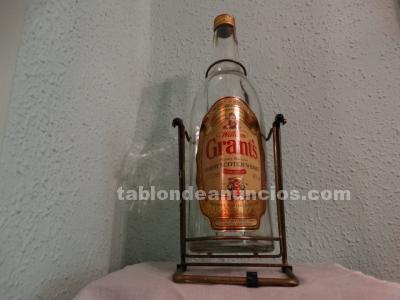 Botellón vacío de whisky Grant's