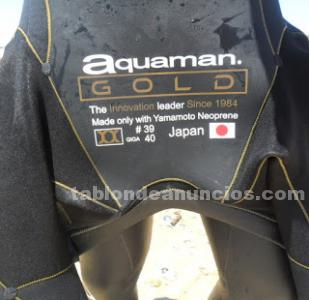 Vendo neopreno aquaman cell gold