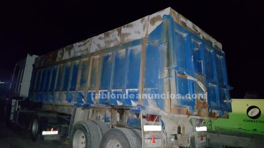 Bañera de camion para el orujo