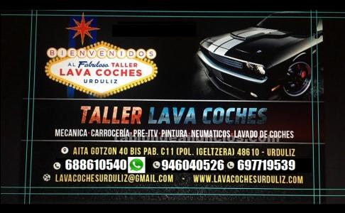 Taller lava coches y mecanica
