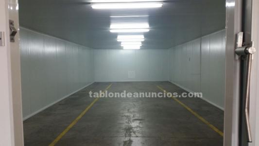 Venta por cierre de;cámaras,secaderos,túneles,obradores-salas,panel,puertas,etc.