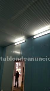 Por LIQUIDACIÓN-SALDO en Cámaras,secaderos,túneles,obrador,panel,puertas etc..