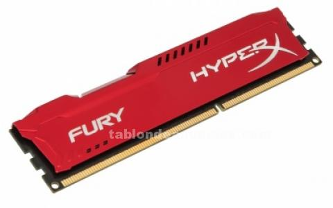 Ram kingston hyperx blue red ddr3 8gb
