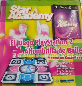 JUEGO   ALFOMBRILLA DE BAILE POP STAR ACADEMY PS2