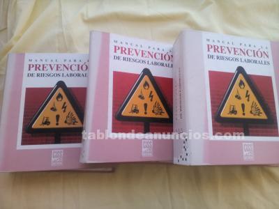 Manual para la prevención de riesgos laborales