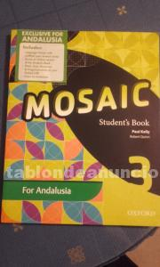 VENDO MOSAIC 3º ESO STUDENT BOOK, DE EDITORIAL OXFORD