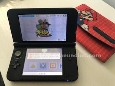 NINTENDO 3DS IMPECABLE 12 JUEGOS FUNDA