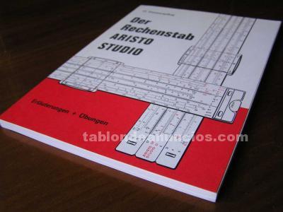 Libro DER RECHENSTAB ARISTO STUDIO O. HASSENPFLUG - REGLA DE CALCULO SLIDE RULE