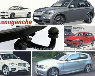 Enganches de remolque BMW