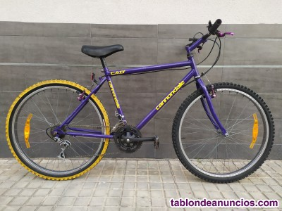 Bici Cad1 Modelo Cannondale