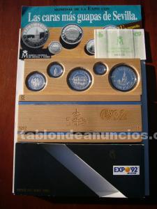 Monedas de la EXPO 92 - Coleccion en plata