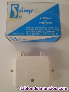 Distribuidor antena repartidor tv