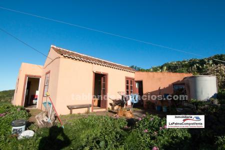 ID-232   Casa Rústica con Terreno en Santo Domingo Garafia. Vivienda unifamiliar