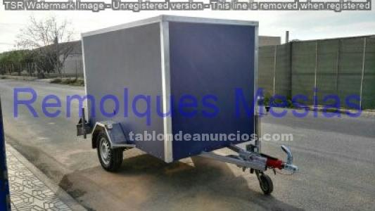 Remolque furgon 240x140x150
