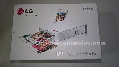 IMPRESORA PORTATL FOTOS LGPD 223