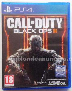 Call of duty blakc ops iii para ps4.