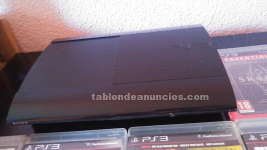 VENDO PS3 SUPER SLIM 500GB 7 JUEGOS