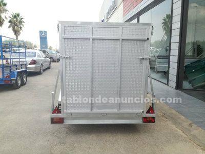 Remolque furgon aerodinamico v
