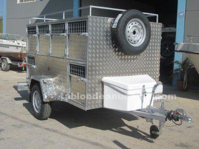 Remolque rehala 10 puertas aluminio