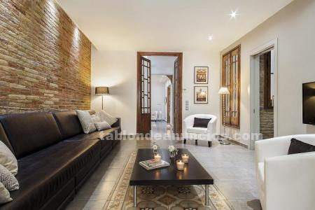 Exclusive apartment with private terrace in barcelona (bhm1-1036)