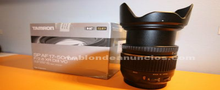 Tamron 17/50 f2.8f di ll vc para canon
