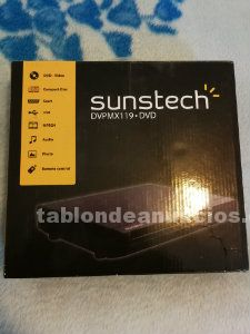 REPRODUCTOR DVD SUNSTECH DVPMX119