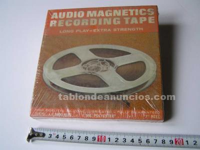 Cinta magnetica magnetofon magnetofono 31870 audio magnetics 1800 feet 7 pulgada