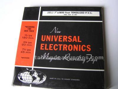 Cinta magnetica de magnetofon magnetofono new universal electronics 3tl7 en caja