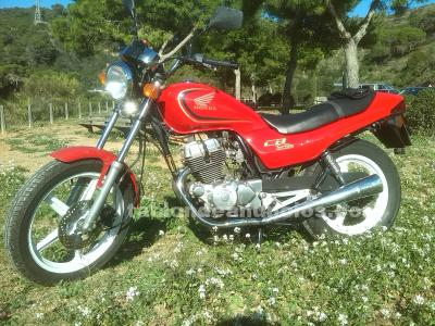 HONDA CB 250, CB 250 ROJA TWO FIFTY