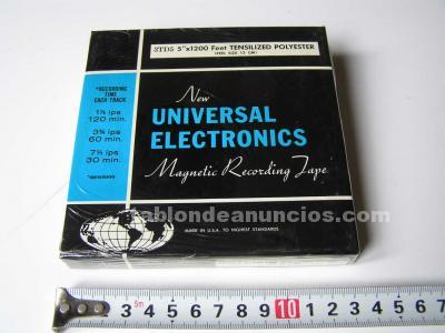 Cinta magnetica 3td5 de magnetofon magnetofono new universal electronics en caja